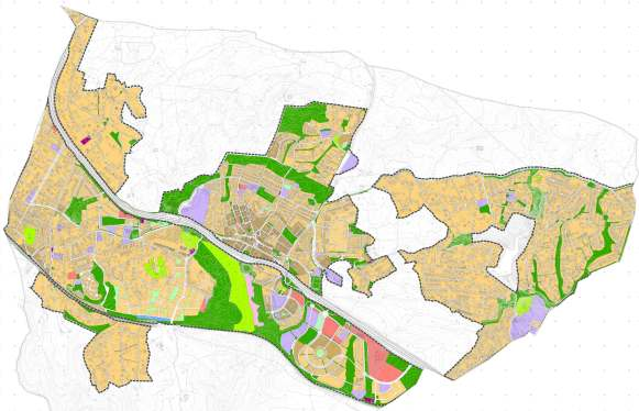 usos pormenorizados suelo urbano