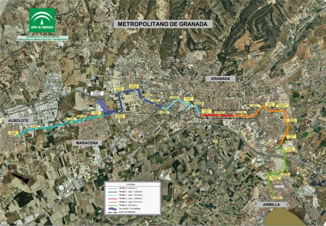Plano-general-MTROPOLITANO-de-Granada-2008