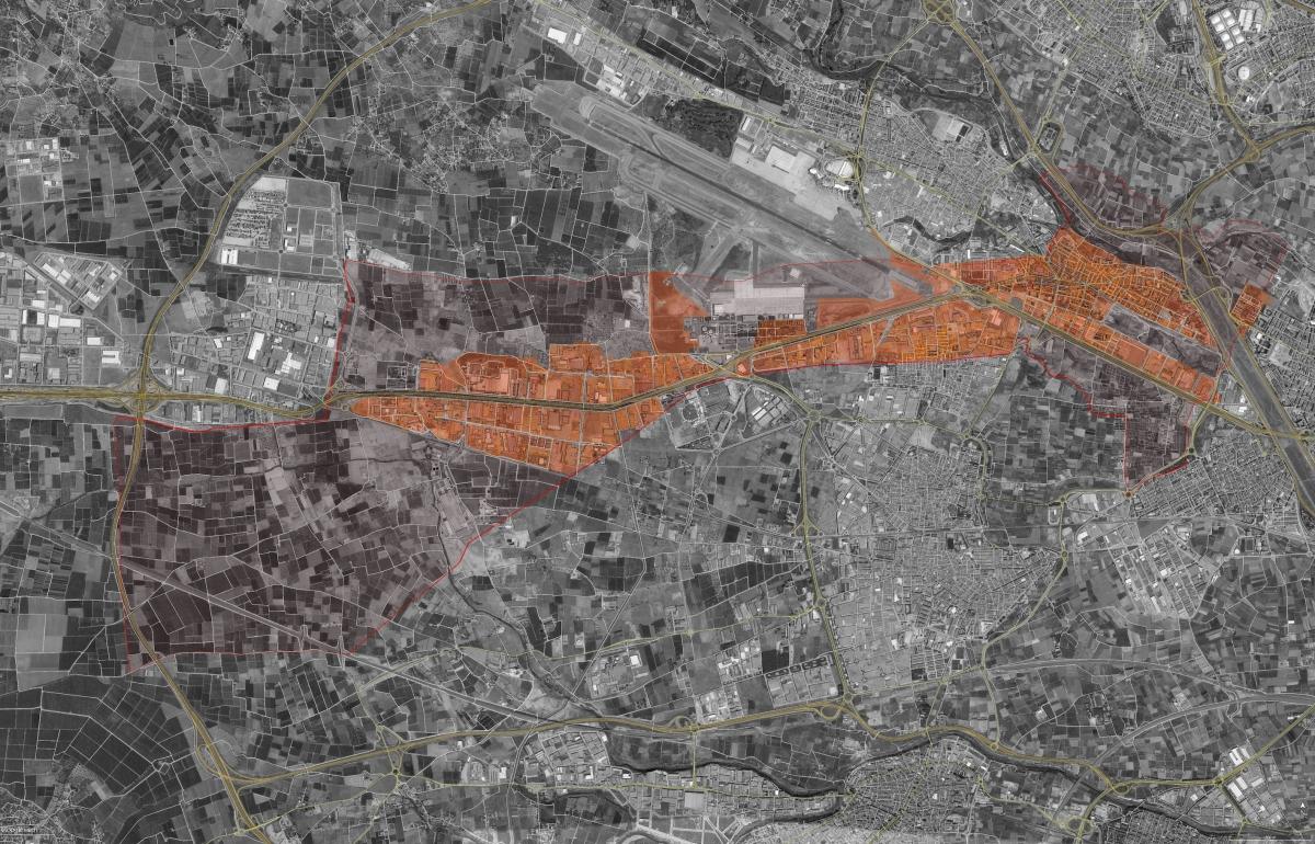 QUART DE POBLET, según Catastro, a 1.1.2015, por tamaño y fecha ...