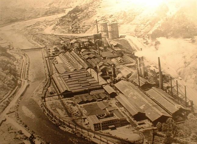 Fábrica de Mieres, hacia 1960