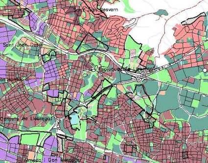 Esplugues sistema urbano