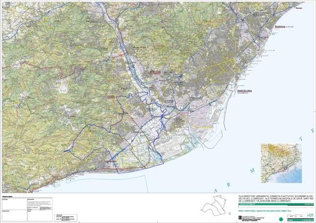 PDU de ambitos de actividad economica delta del Llobregat