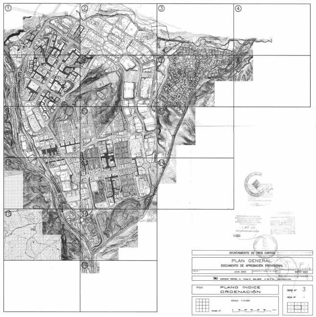 Plano de tres cantos top y trmino municipal de tres cantos y plano del conjunto urbano with - Vppb tres cantos ...