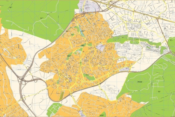 Pozuelo De Alarcon Mapa.Pozuelo De Alarcon Segun Catastro A 1 1 2015 Por Tamano Y