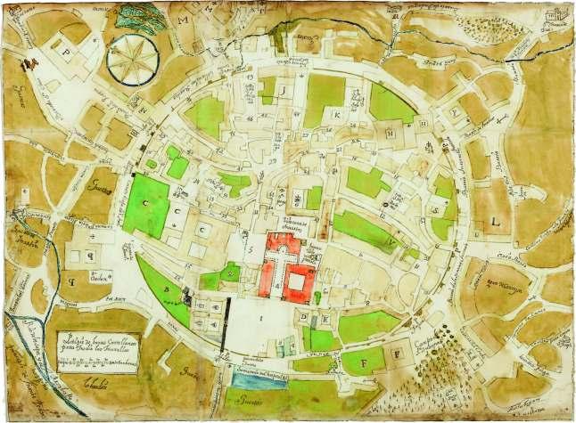 1750 a Santiago-de-Compostela
