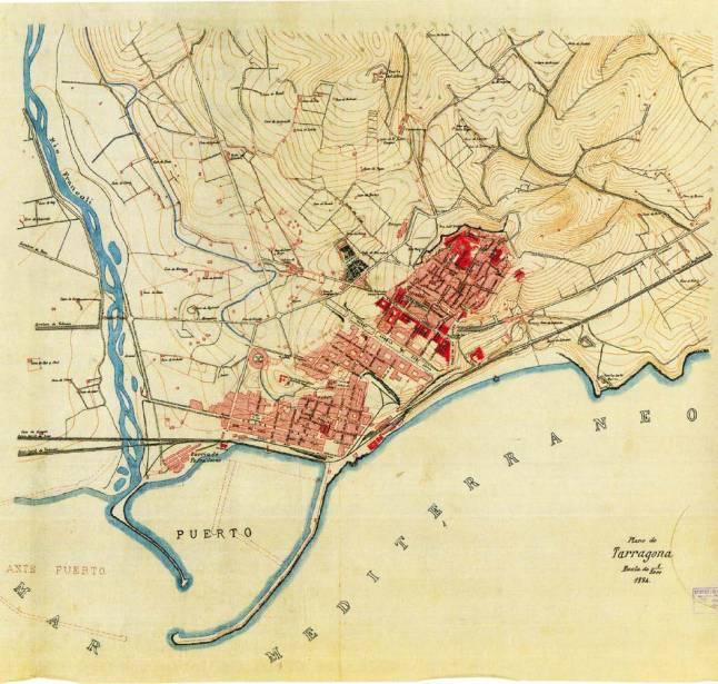 1884 plano Tarragona.jpg