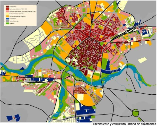 Crecimiento y estructura urbana