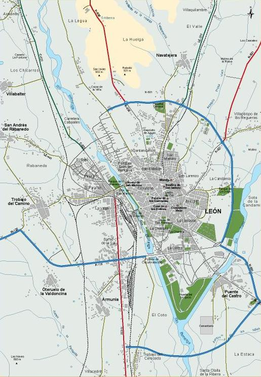 mapa_Leon_accesos