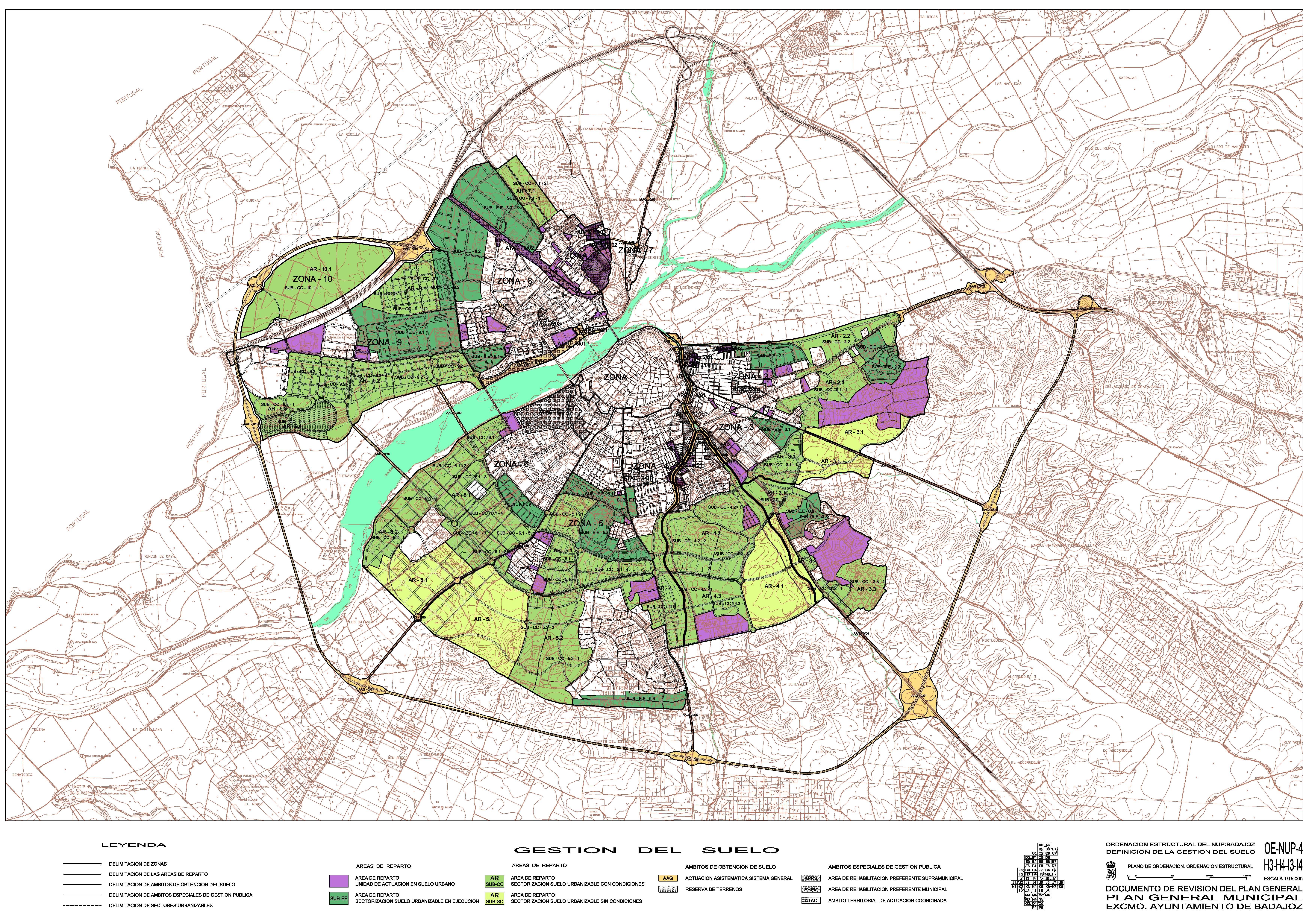 Mapa De Badajoz Capital.Badajoz Segun Catastro A 1 1 2015 Por Tamano Y Fecha Otropunto De Vista Sobre El Territorio