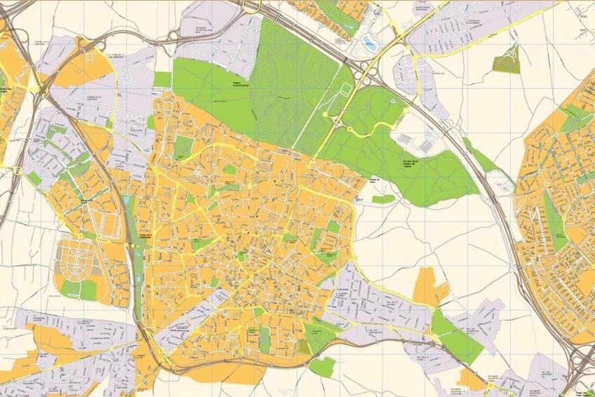 Mapa Fuenlabrada Otropunto De Vista Sobre El Territorio