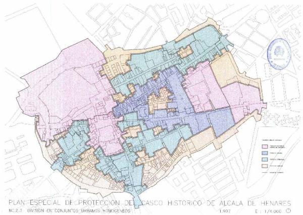 Barrio Venecia Alcala De Henares Mapa.Alcala De Henares Segun Catastro A 1 1 2015 Por Tamano Y