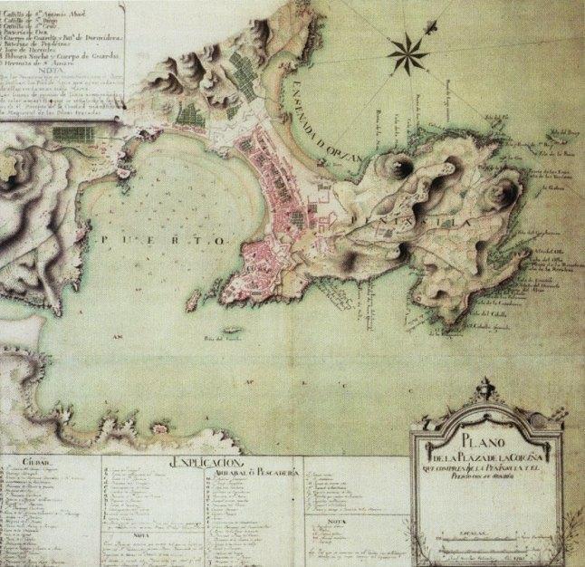 1785 Plano de Josef Sánchez Salvador 1785.jpg