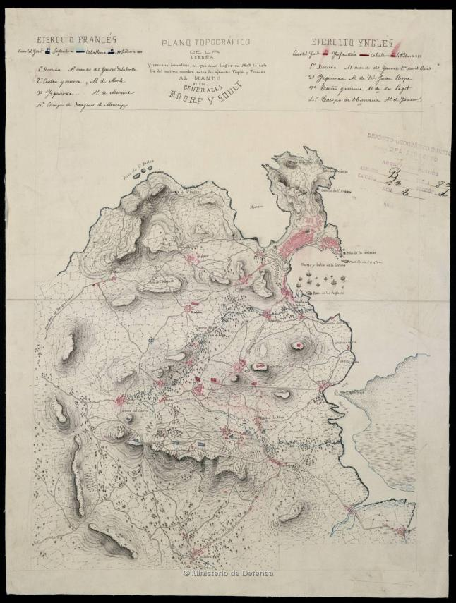1809 Plano_topográfico_da_Coruña_e_terreo_inmediato,_no_que_tivo_lugar_en_1809_a_Batalla_de_Elviña.jpg