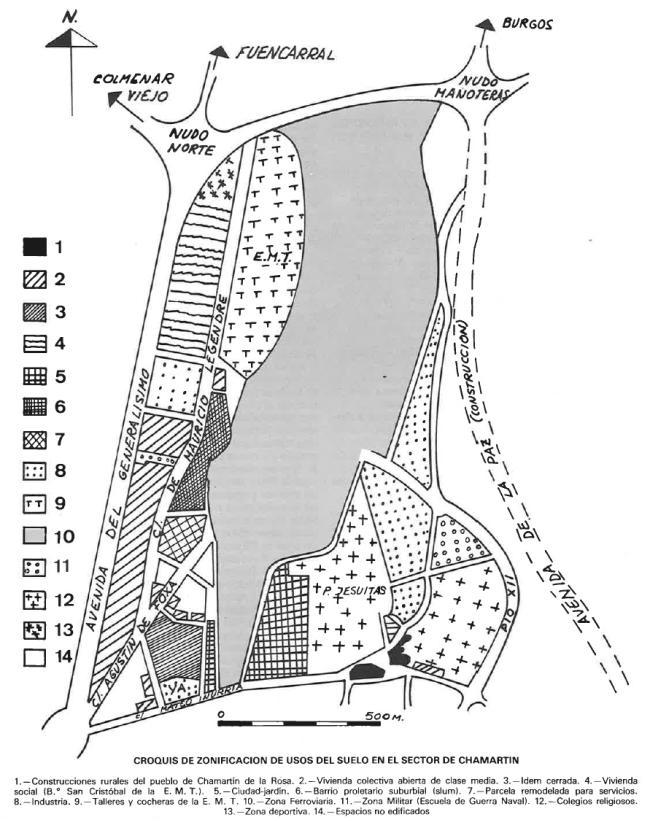 plan usos chamartin 1975