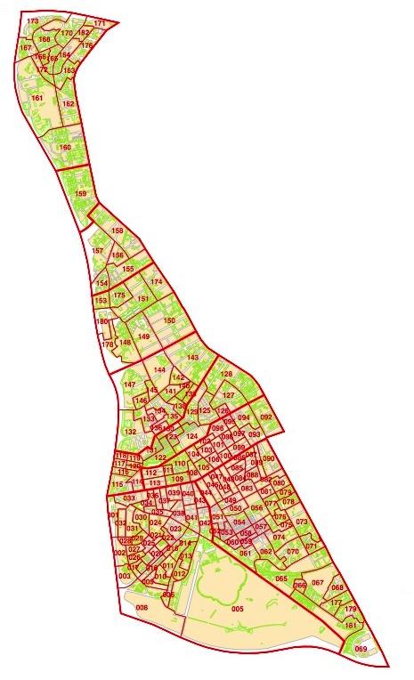 MADRID Distrito 15  CIUDAD LINEAL  otropunto de vista sobre el