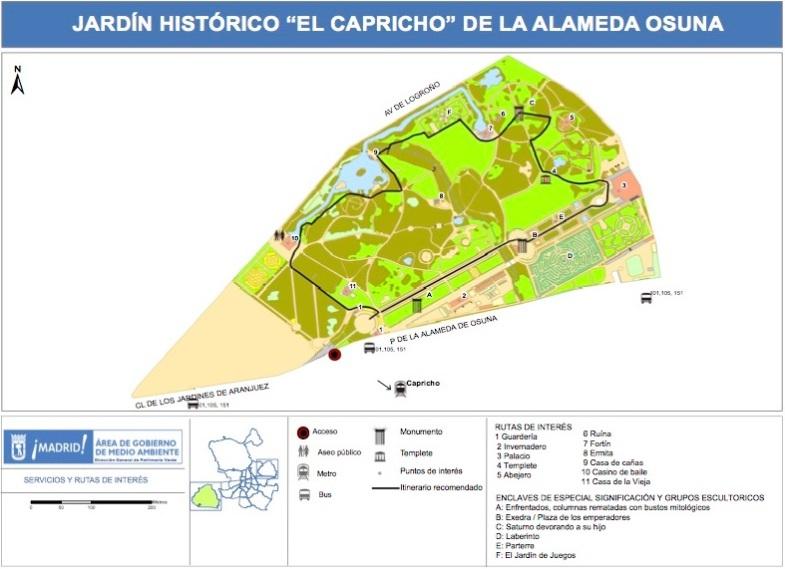 Madrid distrito 21 barajas otropunto de vista sobre el for Jardin historico el capricho paseo alameda de osuna 25